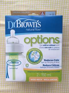 Dr Brown Options wide neck bottle
