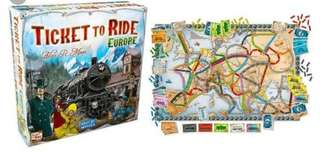 Ticket to Ride - EU edition