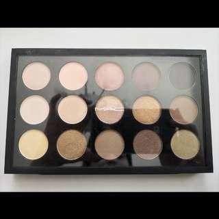 💯 % Authentic Mac Eyeshadow x 15 Warm Neutrals Palette