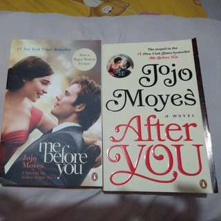 Me before you & after you jojo moyes