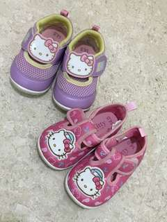 Preloved good condition Hello Kitty Shoes not mini melissa