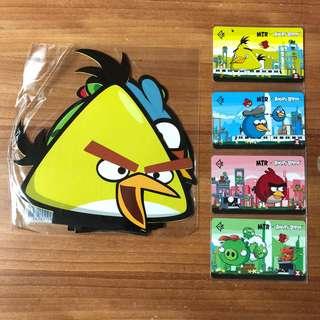 港鐵MTR x Angry Birds 紀念車票 包平郵