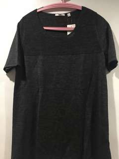 UNIQLO Knitted round neck shirt