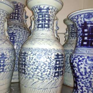 Qing_dynasty vase 4 pcs available