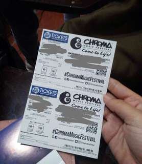 CHROMA VIP TICKET
