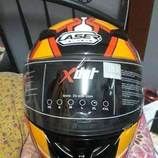 Helmet X DOT Laser