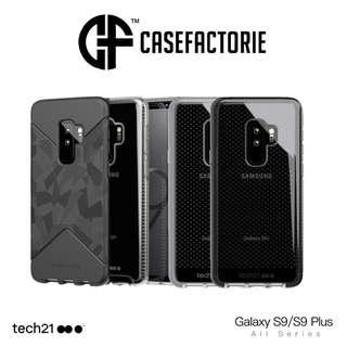 Tech21 Samsung Galaxy S9 Plus Evo Tactical Check Pure Clear