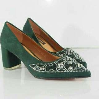 heels tapak tahu zyvana sepatu kondangan