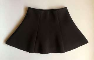 Forever 21 Black Neoprene Skirt
