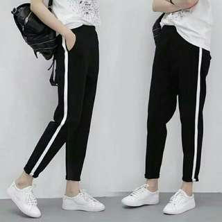 Casual Loose pant hight waist pants trousers