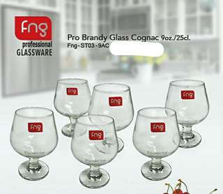 FNG Pro Brandy Glass Cognac 9oz (6 biji)
