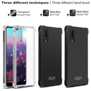 IMAK Full Cover Shockproof Soft TPU for Huawei P20 Pro