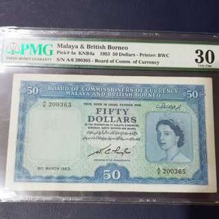 Malaya & British Borneo Note