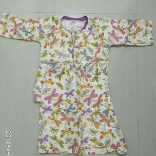 Baju Kurung Cotton 1yr old