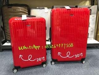 "RIMOWA AIR最輕系列 激情紅 激情價 26""HKD3100(原價HKD4080)"