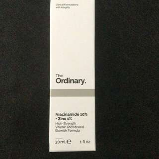 New!  The Ordinary Niacinamide