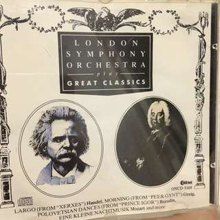 London symphony orchestra cd
