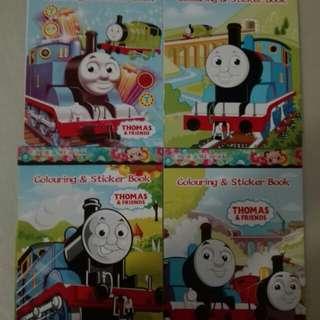 Thomas & friens sticker n colouring book