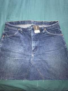 Denim skirt by Wrangler