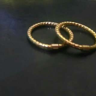 Real Gold 14k Couple's Ring