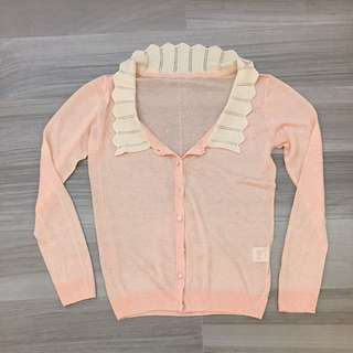 99% New Pink Cardigan- made in Korea
