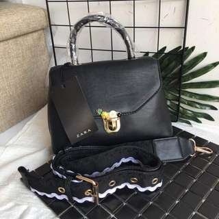 Zara Black Sling Bag