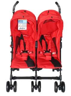 Halford fliplite Twin Stroller