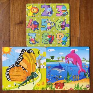 $3 Jigsaw Puzzles - set of 3 puzzles