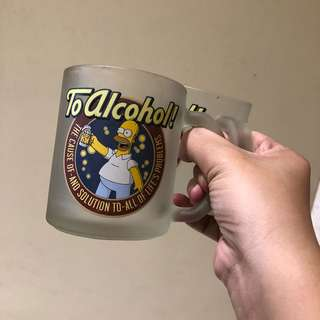 "SIMPSON ""TO ALCOHOL"" Collectors Mug"