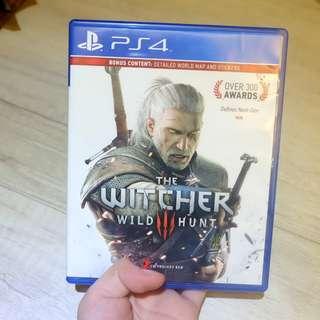 Kaset PS 4 Witcher