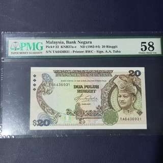 Malaysia RM20(5th Generation)