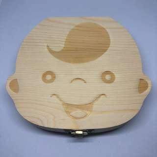 Baby Tooth Box / Baby Milk Teeth Storage Box - boy