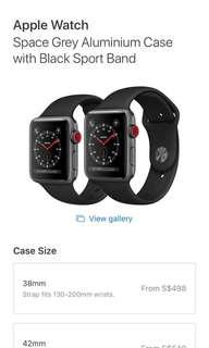 Apple Watch series 3 (gps+cellular)