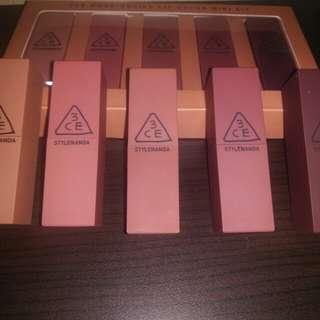 3ce lipstik seri nude (turun harga)