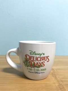 Tokyo Disneysea Delicious Days 2003 Mug
