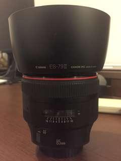 EF Canon 85mm 1.2L mk2