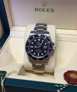 Rolex Submariner Date Watch: Oystersteel