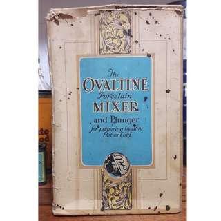 Vintage 1950s Ovaltine Mixer