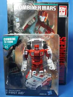 Transformers Combiner Wars First Aid