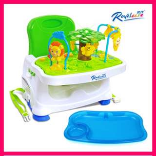 ★CHEAPEST★Royalcare Baby Feeding Chair Booster Seat Chair w Tray Toy★Dining Table High Chair Strap Belt Safety★Safety Portable Foldable Travel Compact Toy★Kids Child★Support★
