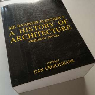 A History of Architecture by Sir Banister Fletcher
