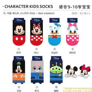 Pre Order Disney Cartoon Socks
