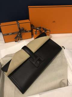 100% new Hermes Jige 29 clutch bag