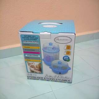 AUTUMNZ Sterilizer & Food Steamer
