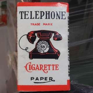 Vintage Cigarette Paper (Telephone brand)
