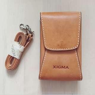 罕有皮袋 Vintage Leather Bag * XIGMA for Handspring Visor series & Visor Prism connected organizer