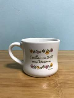 2002 Tokyo Disneysea Christmas Mug