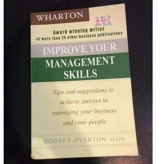IMPROVE YOUR MANAGEMENT SKILLS RODNEY OVERTON BOOK C275