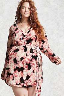 💕3D Floral Plus Size Dress💕