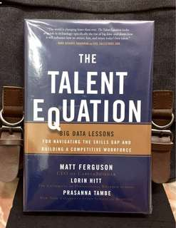 # Highly Recommended《Bran-New + Hardcover Edition + Are You Prepared To Flip The Switch To Big Data Hiring Management ? 》The Talent Equation: Big Data Lessons for Navigating the Skills Gap and Building a Competitive Workforce